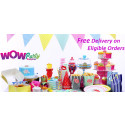 Wow Party Supplies Offers a Wide Range of Baby Shower Decorations With Cheap & Affordable Prices.