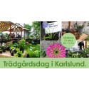 Trädgårdsdag i Karlslund 21 maj