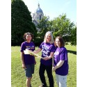 ​Stroke survivor and local stroke teams make Scafell Pike purple this May