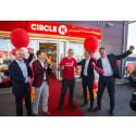 Norges første Circle K-stasjon åpnet