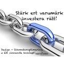 Säker investering för företag och varumärken.