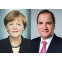 Angela Merkel och Stefan Löfven öppnar German Swedish Tech Forum