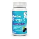 Pharbio Omega-3 Svartvinbär; Omega-3-kapseln som smakar friskt av svartvinbär