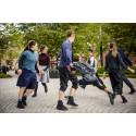 Norrdans dansar SJU GÅNGER SJU för studenter vid MIUN:s förskollärarutbildning.
