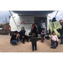 Familjer på gränsen till en humanitär kris