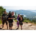 Rekordmånga vandrare till Höga Kusten