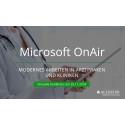 Digitalisierung im Health Care Sektor - Allgeier spricht auf der virtuellen Microsoft Konferenz