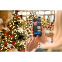 Julegavejagt på mobilen aktiverer gæsterne om bord