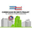 Chemiclean är årets finalist till Sveriges största energipris!