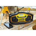 Stanley: Robustes Kompakt-Radio mit Bluetooth