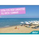 Fler avgångar med Detur från Landvetter till Kreta