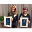 Två eldsjälar prisas i Umeå på Gyncancerdagen