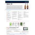 Produktark Garmin Alpha 50