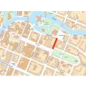 Trädgårdsgatan i Örebro avstängd för ombyggnation från 20 september