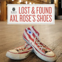 Lost & Found - Axl Rose's shoes