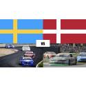 Sverige och Danmark i dubbla landskamper – V8 Thunder Cars vs MASCOT DTC