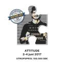 """Need Attitude? Följ då auktionen på nästa konstverk - """"Attitude"""" som börjar 2 juni kl 10.00!"""