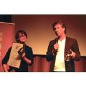 Två vinnare av årets Blåslampa