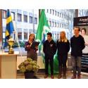 Almåsgymnasiet årets Grön Flagg-skola
