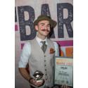 Mr Pringles (Hamidreza Ardalan), Best Moustache 2018