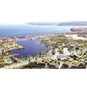 """""""Next Jönköping"""" aerial wiew"""
