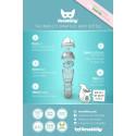 Nu lanserar företaget Herobility nappflaskan HeroBottle