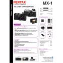 Pentax MX-1 specsheet