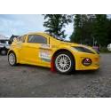 Santosh, SuperLite RallyX,  på Solvalla i helgen.