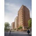 Ett av världens största trähusprojekt byggs i Stockholm
