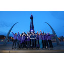 ​Les Dennis and Blackpool Tower help to Make May Purple for stroke