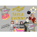 Läsfrämjande sommartävling - skapa din egen karaktär, få egen munk på Dunkin' Donuts