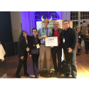 ensa.com wins Silicon Viking Award at Sweden Demo Day, Stockholm 2016