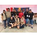 Optiker utan gränser teamet 2018, med volontärer och tolkar.