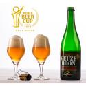 Boon Geuze Black Label Second Edition - Bottle & Glasses