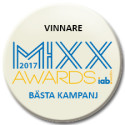 "Max vinner Mixx Awards ""Bästa kampanj direkt respons"""