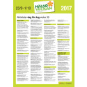 Hälsoveckan 2017, poster A3