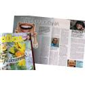 Calle Hagman intervjuas i Allas veckotidning