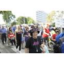JAG-medlemmar deltar i europeisk frihetsmarsch