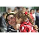 Mer skratt till syriska flyktingbarn