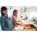 Vegetarisk mat serveras under årets hållbarhetsvecka