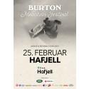 Burton Mountain Festival, Hafjell Mosetertoppen lørdag 25 mars