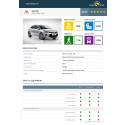 Kia Rio Euro NCAP test datasheet (with safety pack) - Sept 2017