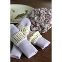 Virk-kit Servettringar Erica Laurell Organic Yarn