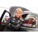Swecon samarbetar med Ramona Karlsson under finalen av RallyX Nordic