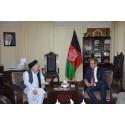 Vad talade ambassadören och flyktingministern om i Kabul?