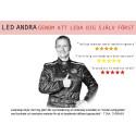 Motorsportens Tina Thörner - en av Sveriges populäraste föreläsare
