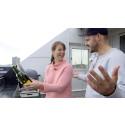 Susanne Ljungskog snackar vin
