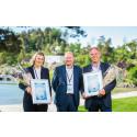Vant Sørlandets energipris 2017: Kristiansand kommune og Eramet Norway Kvinesdal er Sørlandets smarteste strømbrukere