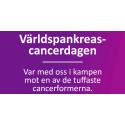 Global manifestation mot en av de tuffaste cancerformerna som finns