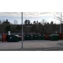 Ny återvinningsstation vid Willys